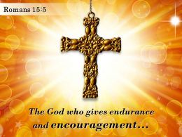 0514 Romans 155 The God Who Gives Endurance PowerPoint Church Sermon