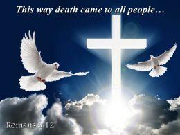0514 Romans 512 This Way Death Came Powerpoint Church Sermon