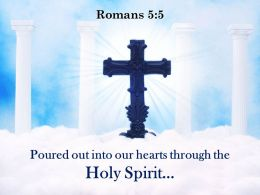 0514 Romans 55 The Holy Spirit Powerpoint Church Sermon