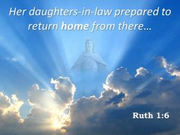 0514 Ruth 16 Prepared To Return Home From There Powerpoint Church Sermon