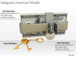 0514 Safeguard American Wealth Image Graphics For Powerpoint