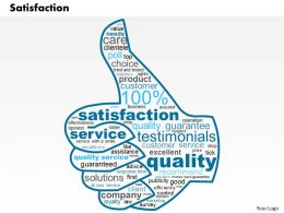0514 Satisfaction PowerPoint Slide Template
