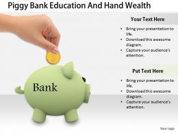 0514 Save Money In Bank Image Graphics for PowerPoint