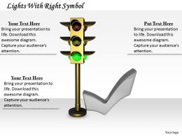 0514 See Right Traffic Lights Image Graphics For Powerpoint