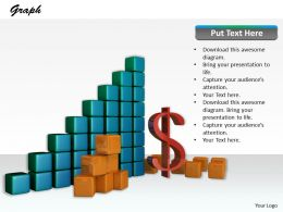 0514 See The Financial Bar Graph Image Graphics For Powerpoint