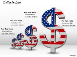 0514 See The Growth Of Dollars Image Graphics For Powerpoint