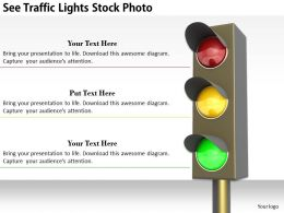 0514 See Traffic Lights Image Graphics For Powerpoint