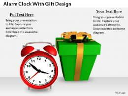 0514 Send The Gift On Time Image Graphics For Powerpoint