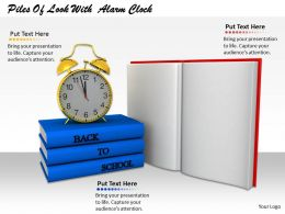 0514 Set Alarm For Reading Image Graphics For Powerpoint