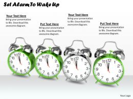 0514 Set Alarm To Wake Up Image Graphics For Powerpoint