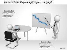 0514 Show The Business Growth Chart Image Graphics For Powerpoint