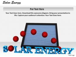0514 Solar Energy Saves Money Image Graphics For Powerpoint