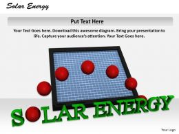 0514 Solar Power Energy Generation Image Graphics For Powerpoint