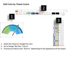 0514 Speedometer Of Sales Growth Powerpoint Presentation