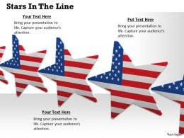 0514 star graphic with us flag design Image Graphics for PowerPoint