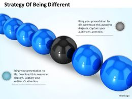 0514 Strategy Of Being Different Image Graphics For Powerpoint