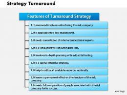 0514 Strategy Turnaround Powerpoint Presentation