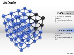 0514 Study The Molecular Structure Image Graphics For Powerpoint