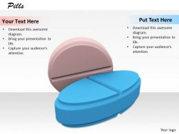0514 Take Right Pill For Cure Image Graphics For Powerpoint