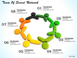 0514 Team Of Social Network Image Graphics For Powerpoint