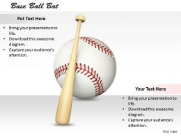 0514 Theme Of Baseball Game Image Graphics For Powerpoint