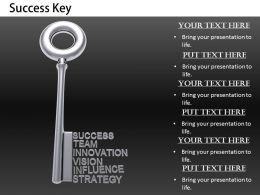 0514 Theme Of Key To Success Image Graphics For Powerpoint