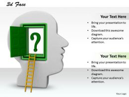 0514 Thinking Process Takes Place In Brain Image Graphics For Powerpoint