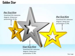 0514 Three Different Shaped Stars Image Graphics For Powerpoint