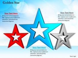 0514 Three Different Stars Graphic Image Graphics For Powerpoint