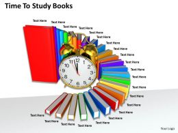 0514 Time To Study Books Image Graphics For Powerpoint