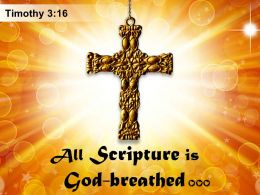 0514 Timothy 316 All Scripture Is God Breathed Powerpoint Church Sermon
