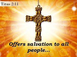 0514 Titus 211 The Grace Of God Powerpoint Church Sermon