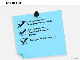 0514 To Do List Powerpoint Presentation