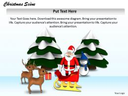 0514 Traditional Theme Of Christmas Image Graphics For Powerpoint