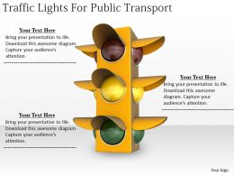 0514 Traffic Lights For Public Transport Image Graphics For Powerpoint
