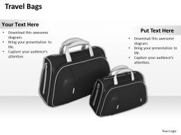 0514 travel bags Image Graphics for PowerPoint