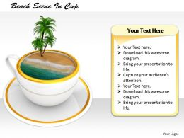 0514_tropical_drink_on_beach_image_graphics_for_powerpoint_Slide01