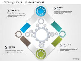 0514 Turning Gears Business Process Powerpoint Presentation