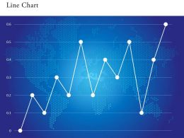 0514 Unique Pattern Data Driven Line Chart Powerpoint Slides