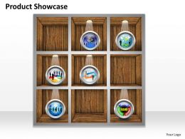 0514 Unique Product Showcase Portfolio Diagram