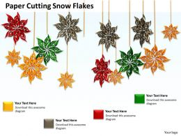 0514 Use Decorative Star Flakes Image Graphics For Powerpoint