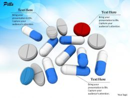 0514 Use Different Pillsfor Treatment Image Graphics For Powerpoint