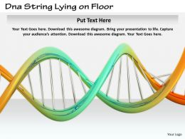 0514 Use Dna String For Study Image Graphics For Powerpoint