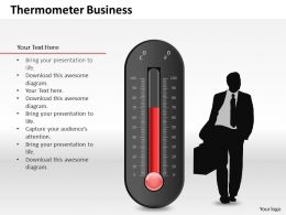 0514 Use Good Quality Scientific Thermometer Powerpoint Slides