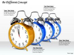 0514 Use Multiple Alarm Clocks Image Graphics For Powerpoint