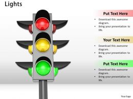 0514 Use Traffic Light Symbols Image Graphics For Powerpoint