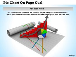 0514 Use Xy And Pie Chart For Business Result Image Graphics For Powerpoint