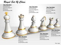 0514 White Chess Set Graphic Image Graphics For Powerpoint