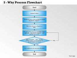 0514 Why Process Flowchart Powerpoint Presentation