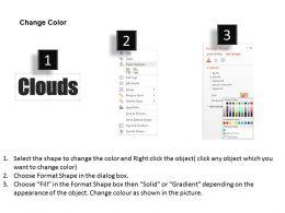 0514 Word Cloud Powerpoint Slide Template